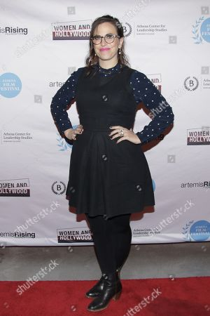 Editorial picture of 'unREAL' TV show screening, Athena Film Festival, New York, USA - 22 Feb 2018