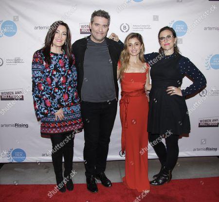 Stacy Rukeyser, Craig Bierko, Shiri Appleby and Sarah Gertrude Shapiro