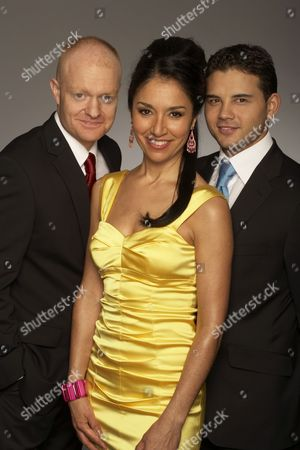'The British Soap Awards'  TV - 2009 -  Jake Wood, Seeta Indrani and Ryan Thomas.