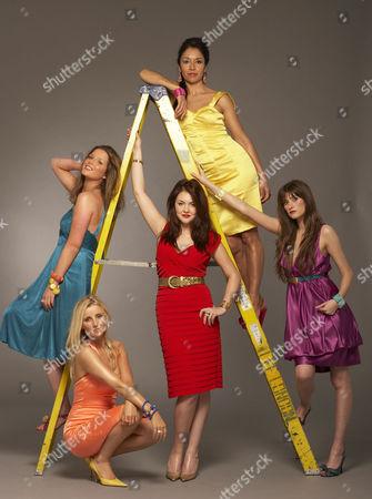'The British Soap Awards'  TV - 2009 -  Helen Flanagan, Carley Stenson, Lacey Turner, Seeta Indrani and Charley Webb