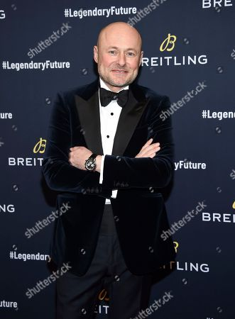 Breitling CEO Georges Kern attends the Breitling Global Roadshow event at The Duggal Greenhouse, in New York