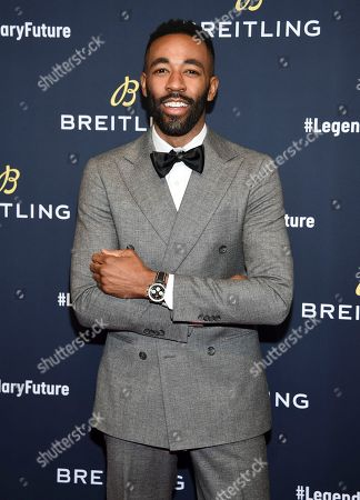 Ryan Clark. Xxx attends the Breitling Global Roadshow event at The Duggal Greenhouse, in New York