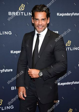 Stock Photo of Christian de la Fuente attends the Breitling Global Roadshow event at The Duggal Greenhouse, in New York
