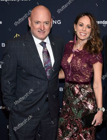Scott Kelly, Amiko Kauderer. Scott Kelly and Amiko Kauderer attend the Breitling Global Roadshow event at The Duggal Greenhouse, in New York