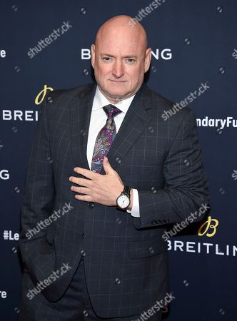 Scott Kelly attend the Breitling Global Roadshow event at The Duggal Greenhouse, in New York