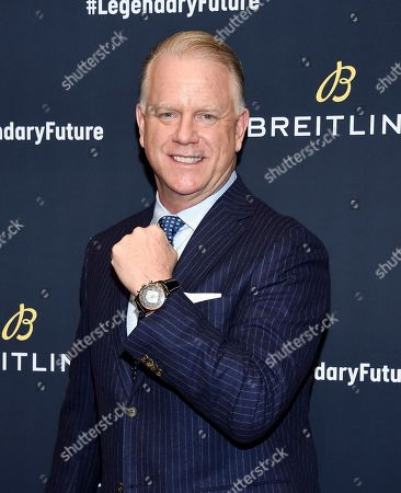 Boomer Esiason attends the Breitling Global Roadshow event at The Duggal Greenhouse, in New York