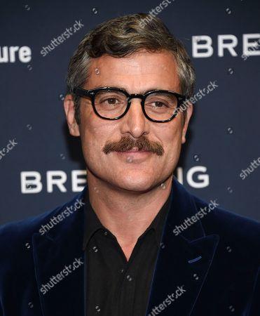 Editorial photo of Breitling Global Roadshow Event, New York, USA - 22 Feb 2018