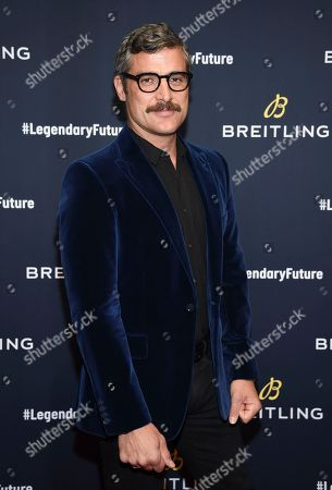 Editorial picture of Breitling Global Roadshow Event, New York, USA - 22 Feb 2018
