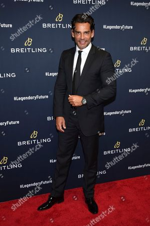 Editorial image of Breitling Global Roadshow Event, New York, USA - 22 Feb 2018