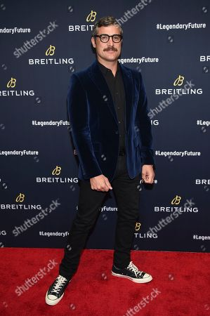 Douglas Friedman attends the Breitling Global Roadshow event at The Duggal Greenhouse, in New York