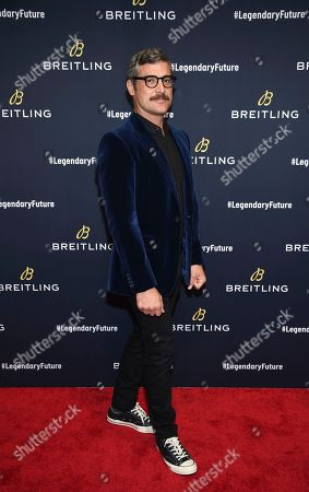 Stock Image of Douglas Friedman attends the Breitling Global Roadshow event at The Duggal Greenhouse, in New York