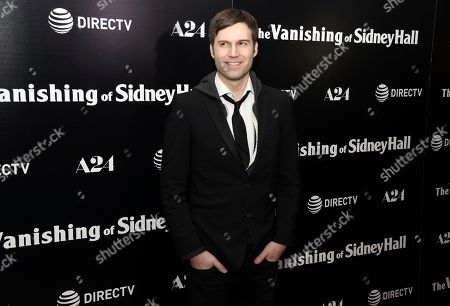 "Director Shawn Christensen arrives at the Los Angeles premiere of ""The Vanishing of Sidney Hall"" at the ArcLight Hollywood on"