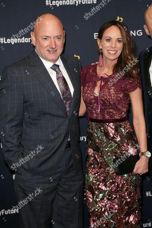 Scott Kelly and Amiko Kauderer