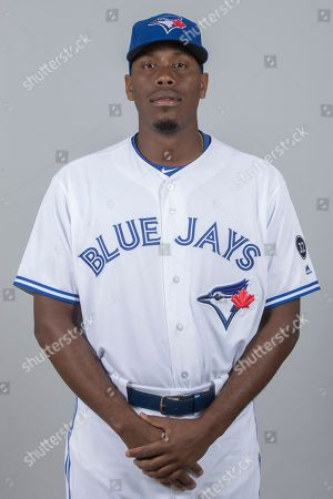 This is a 2018 photo of Carlos Ramirez of the Toronto Blue Jays baseball team. This image reflects the 2018 active roster as of Thursday, Feb. 22, when this image was taken