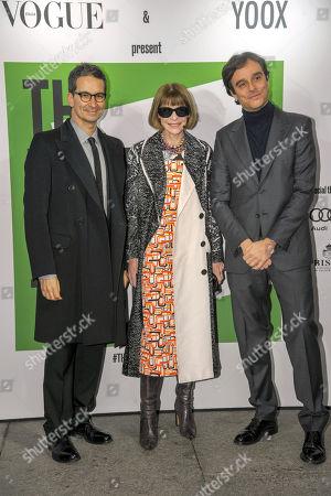 Federico Marchetti, Anna Wintour, Emanuele Farneti