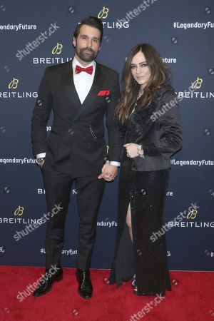 Editorial photo of Breitling 'Global Roadshow' event, New York, USA - 22 Feb 2018