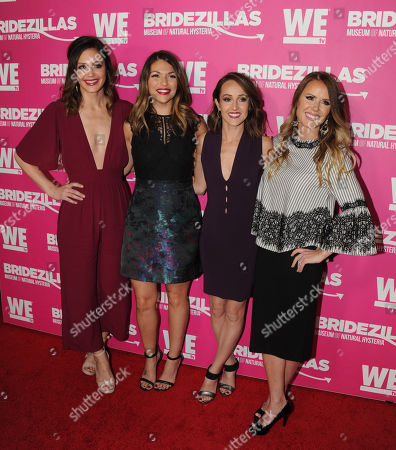 Stock Image of Desiree Hartsock, Deanna Pappas, Ashley Hebert, and Trista Sutter