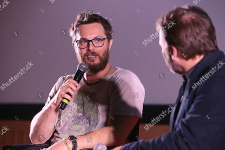 """Director Duncan Jones at Netflix Films """"MUTE"""" Special Screening on February 22 at The Grove, Los Angeles, CA"""