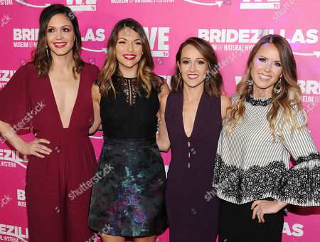 Stock Picture of Trista Sutter, Desiree Hartsock, Deanna Pappas, Ashley Hebert
