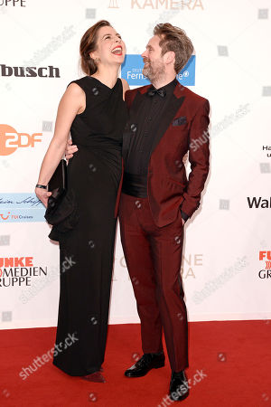 Matthias Matschke und Frau Judith Engel