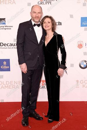 Stock Image of Goetz Schubert und Frau Simone Witte
