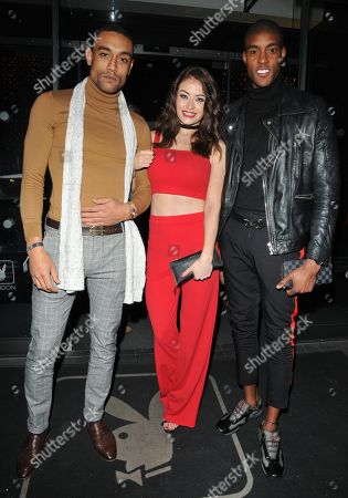 Editorial picture of The White Management VIP party, The Playboy Club, London, UK - 22 Feb 2018