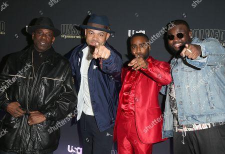 Mopreme Shakur, Anthony Hemingway, Marcc Rose, Wavyy Jonez