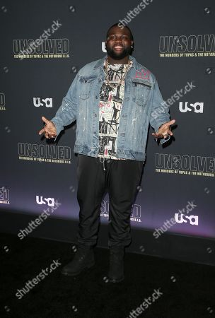 Editorial image of 'Unsolved: The Murders of Tupac and The Notorious B.I.G.' TV show premiere, Los Angeles, USA - 22 Feb 2018