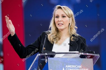 Marion Marechal-Le Pen, French politician, at the Conservative Political Action Conference (CPAC)