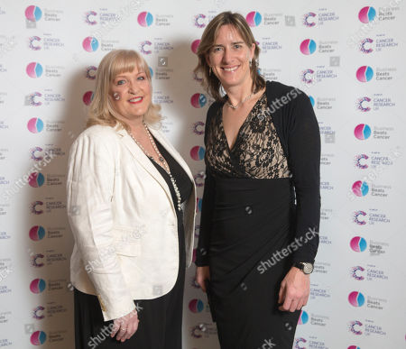 Katherine Grainger with Joanne Casey