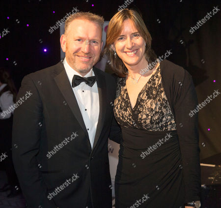 Speakers Andy Nicol (left) and Katherine Grainger (right)