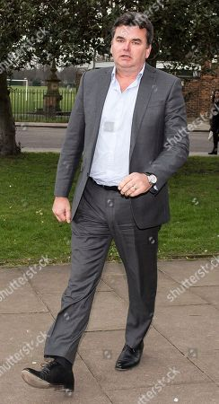 Stock Photo of Dominic Chappell Former BHS owner arrives at Barkingside Magistrates' Court in Ilford