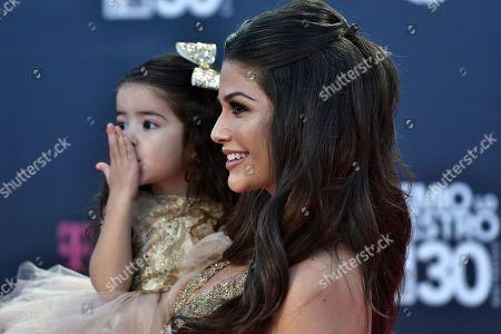 Ana Patricia Gamez and daughter Giulietta Martinez