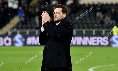 Ryan Mason introduced to the crowd before the match