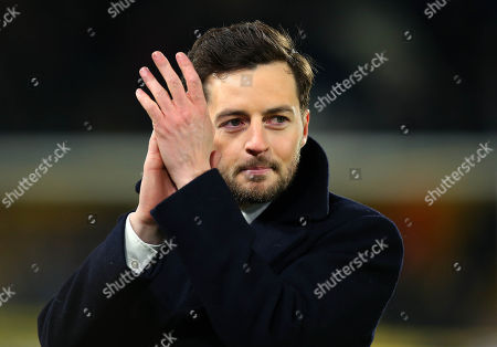 Former Hull City and Tottenham Hotspur midfielder Ryan Mason receives a warm applause from Hull City fans after his recent retirement announcement