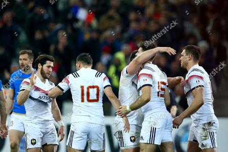 Editorial picture of NatWest 6 Nations Championship Round 3, Orange Velodrome, Marseille, France  - 23 Feb 2018