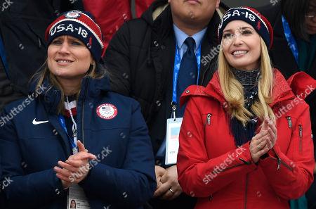 Ivanka Trump and Angela Ruggiero
