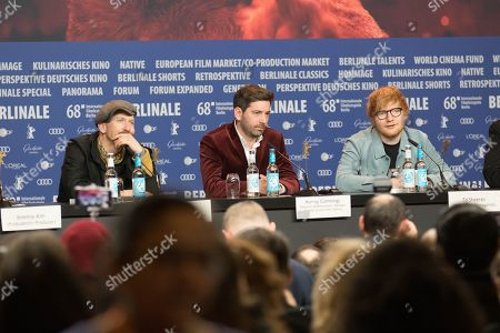 Editorial photo of 'Songwriter' press conference, 68th Berlin Film Festival, Germany - 23 Feb 2018