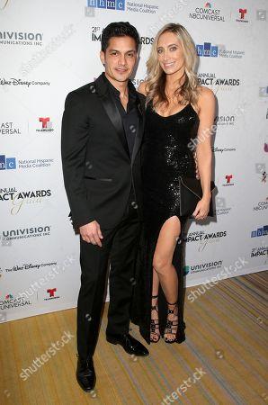 Nicholas Gonzalez and Kelsey Crane