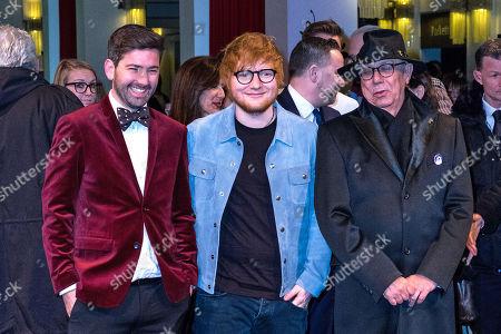 Murray Cummings, Ed Sheeran, Dieter Kosslick