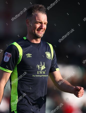 Clint Hill of Carlisle United