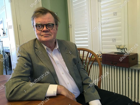 """Garrison Keillor poses for a photo in Minneapolis. Keillor discusses allegations of sexual harassment in his first extended interview since Minnesota Public Radio severed ties with the former """"A Prairie Home Companion"""" creator and host in November"""