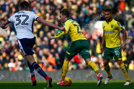 Editorial image of Norwich City v Bolton Wanderers, EFL Sky Bet Championship, 24scores a goal 0-22018 - 24 Feb 2018