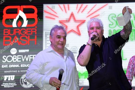 Lee Brian Schrager and Guy Fieri
