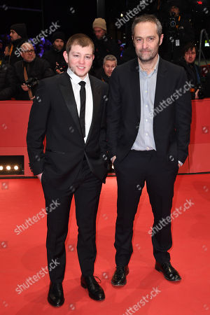 Stock Photo of Anthony Bajon (L) and Cedric Kahn arrive for the Closing and Awards Ceremony of the 68th annual Berlin International Film Festival (Berlinale), in Berlin, Germany, 24 February 2018. The Berlinale runs from 15 to 25 February.