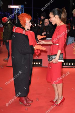 Stock Photo of Zazie de Paris (L) and Annabelle Mandeng arrive for the Closing and Awards Ceremony of the 68th annual Berlin International Film Festival (Berlinale), in Berlin, Germany, 24 February 2018. The Berlinale runs from 15 to 25 February.