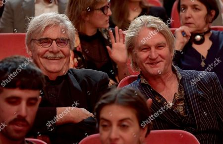 Austrian actor Peter Simonischek (L) and German Director Detlev Buck at the closing and award ceremony of the 68th annual Berlin International Film Festival (Berlinale), in Berlin, Germany, 23 February 2018. The Berlinale runs from 15 to 25 February.