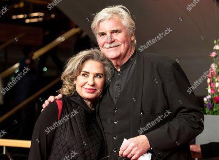 Peter Simonischek and Brigitte Karner