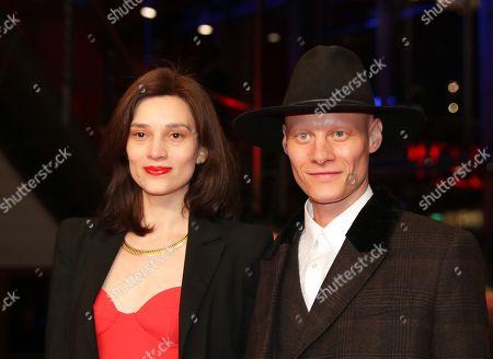 Stock Photo of Irmena Chichikova and Tomas Lemarquis