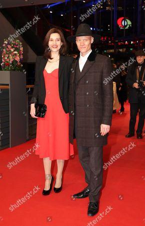 Stock Image of Irmena Chichikova and Tomas Lemarquis